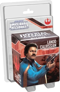 Star Wars: Imperial Assault - Lando Calrissian Ally Pack (Board Game) - Cover