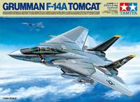 Tamiya - 1/48 Grumman F-14A Tomcat (Plastic Model Kit) - Cover