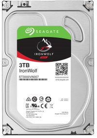 Seagate - IronWolf 3TB 3.5 inch NAS 64mb Cache Internal Hard Drive - Cover