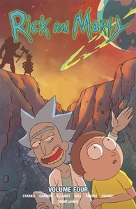 Rick and Morty 4 - Kyle Starks (Paperback) - Cover