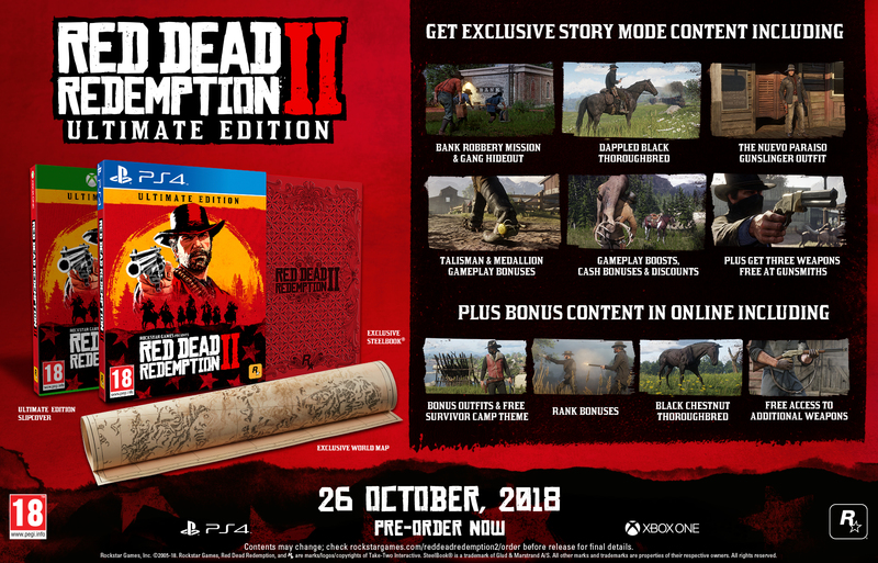 Red Dead Redemption 2 Ultimate Edition Ps4 Video