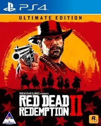 Red Dead Redemption 2 - Ultimate Edition (PS4) - Cover