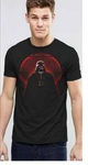 Star Wars Rogue One – Darth Vader and Death Star Mens Black T-Shirt (Large)