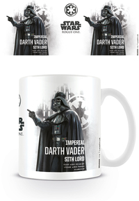 Star Wars Rogue One - Darth Vader Profile Mug - Cover
