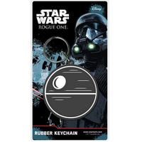Star Wars Rogue One - Death Star Rubber Key Ring