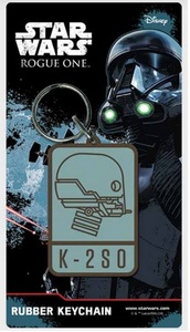 Star Wars Rogue One – K-2S0 Rubber Key Ring - Cover