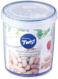 Lock & Lock - Twist Container (1 Litre) - Cover