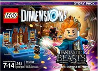 LEGO Dimensions: Fantastic Beasts and Where to Find Them Story Pack (For PS3/PS4/Xbox 360/Xbox One) - Cover