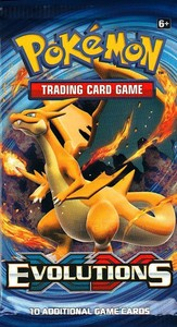 Pokémon XY - Evolutions Booster - Cover