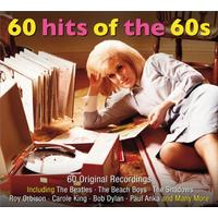 60 Hits Of The 60s (Audio CD)