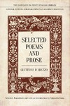 Selected Poems and Prose - Guitonne D'arezzo (Hardcover)