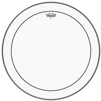 REMO PS-1324-00 24 Inch Pinstripe Clear Bass Drum Batter Drum Head