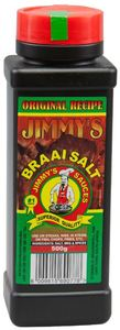 Jimmy's - 500g Braai Salt - Cover