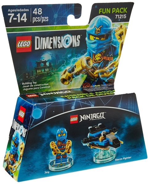 Lego Dimensions Ninjago Jay Fun Pack For Ps3ps4xbox 360xbox One
