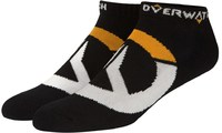 Overwatch – Logo Black Socks (One Size) - Cover