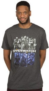 Overwatch - Bring Your Friends Mens T-Shirt (XX-Large) - Cover