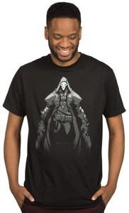Overwatch - Death Walks Among You Mens T-Shirt (XX-Large) - Cover