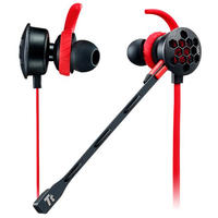 Thermaltake Tt eSports Isurus Pro 3.5mm Earphones - Red