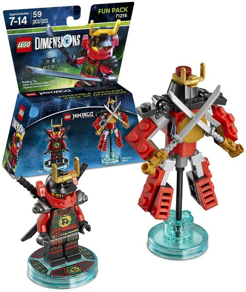 Lego Dimensions Ninjago Nya Fun Pack For Ps3ps4xbox 360xbox One