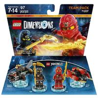 LEGO Dimensions: Ninjago Cole & Kai Team Pack (For PS3/PS4/Xbox 360/Xbox One)