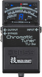 Boss TU-3W Chromatic Tuner With True Bypass and Drop Tuning (Black)