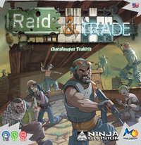 Raid & Trade (Board Game) - Cover
