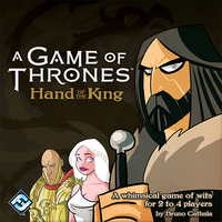 A Game of Thrones: Hand of the King - Cover