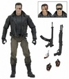 Terminator - T-800 Police Station Assault with Motorcycle Jacket Ultimate Action Figure 18cm
