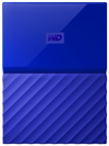WD - My Passport 1TB External Hard Drive USB 3.0 (3.1 Gen 1) 2.5 inch - Blue