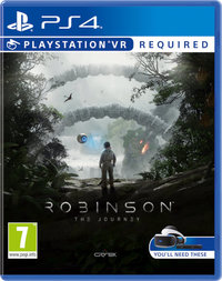 Robinson: The Journey (PS4) - Cover