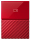 WD - My Passport 1TB External Hard Drive USB 3.0 (3.1 Gen 1) 2.5 inch - Red