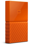WD - My Passport 4TB External Hard Drive USB 3.0 (3.1 Gen 1) 2.5 inch - Orange