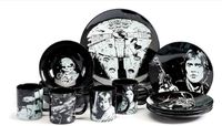 Star Wars 16 Piece Glazed Stoneware Dinner Set