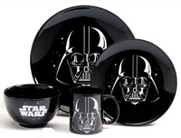 Star Wars: Darth Vader Glazed Stoneware Dinner Set (4 Piece Set)