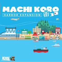 Machi Koro Harbour Expansion (Card Game)