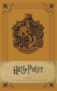 Harry Potter: Hufflepuff Ruled Pocket Journal - Insight Editions (Hardcover) - Cover