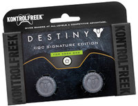 KontrolFreek - Destiny CQC Signature Edition Thumbgrip - Grey/Black (Xbox One) - Cover