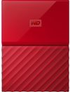 WD - My Passport 4TB External Hard Drive USB 3.0 (3.1 Gen 1) 2.5 inch - Red