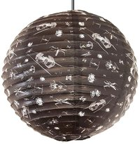 Star Wars X-Wing v Tie-Fighter Spherical Paper Light Shade
