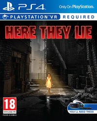 Here They Lie (PS4) - Cover