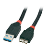 Lindy 0.5m USB3.0 Type-A to Micro-B Cable