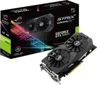 ASUS - ROG Strix NVIDIA GeForce GTX 1050 Ti OC edition 4GB GDDR5 Graphics Card - Cover