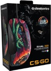 SteelSeries Rival 300 CS:GO Hyper Beast Edition Optical Gaming Mouse (PC)
