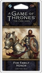A Game of Thrones: The Card Game (Second Edition) - For Family Honor (Card Game)