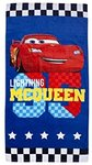 Cars Lightning McQueen Beach Towel