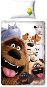 Secret Life of Pets - Single Panel Duvet