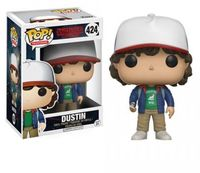 Funko Pop! Television - Stranger Things Dustin with Compass Pop Vinyl Figure - Cover