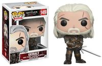 Funko Pop! Games - The Witcher 3: Wild Hunt - Geralt Vinyl Figure - Cover