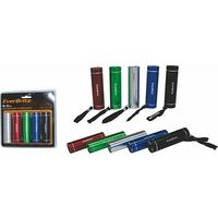 Everbrite - 5x 3AAA Flashlight Combo with Carbon Batteries