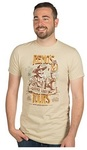 Hearthstone Reno's Tours Premium T-Shirt - Sand (Medium)